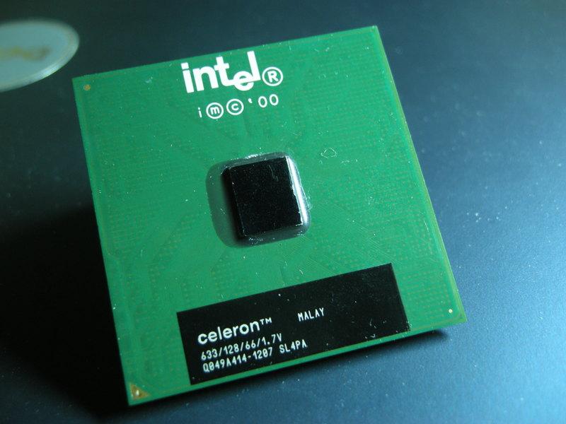 CPU正面图
